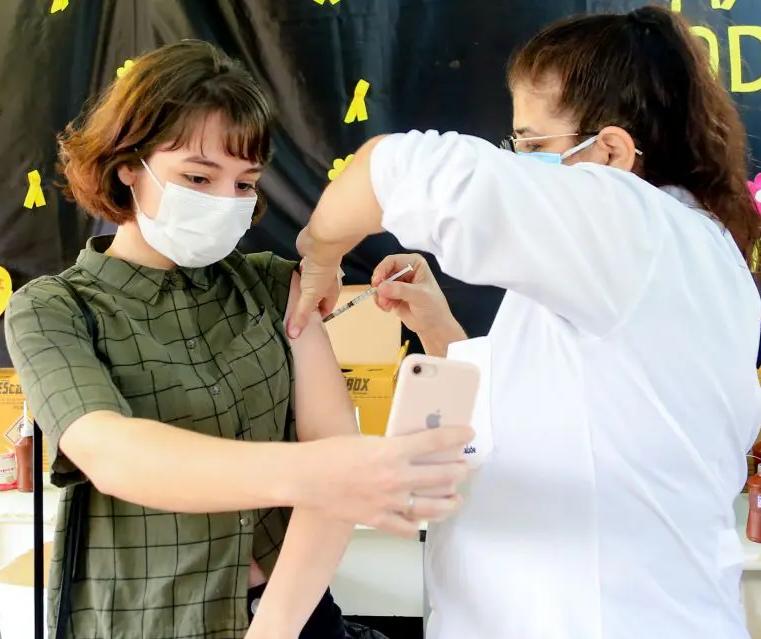 Maringá inicia vacinação de adolescentes de 12 a 17 anos com comorbidades nessa segunda-feira (27)