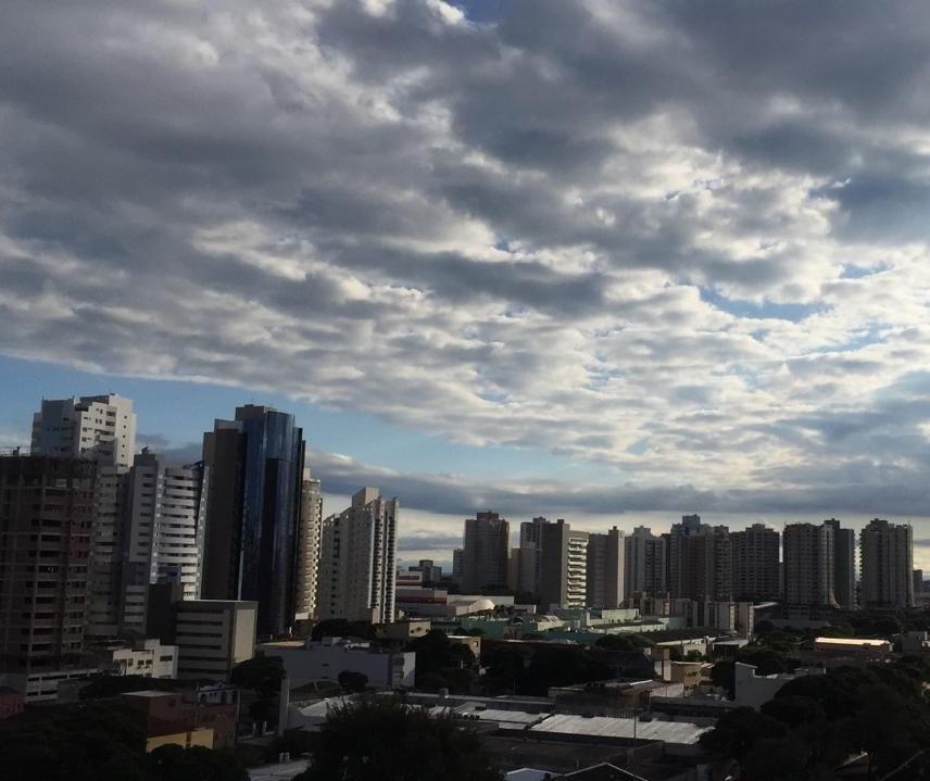 Tempo aberto e firme neste sábado (2) em Maringá