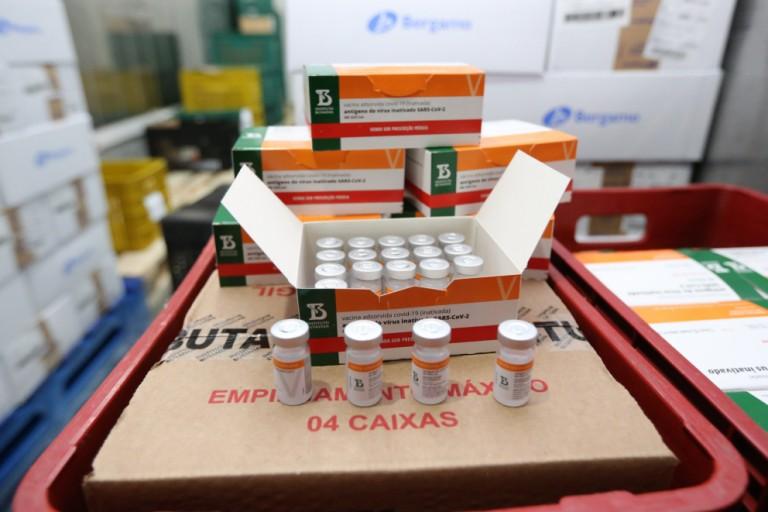 Maringá recebe mais um lote de vacinas contra o coronavírus