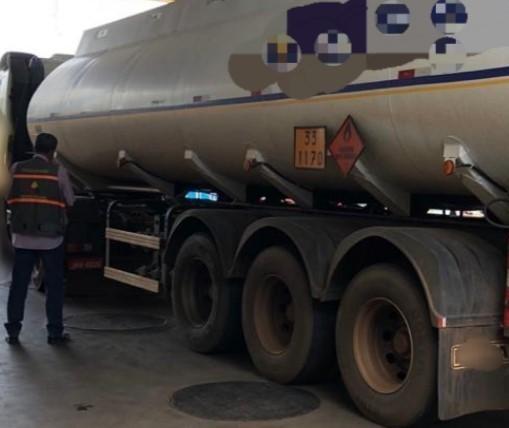 Carga de etanol é apreendida em posto de Maringá