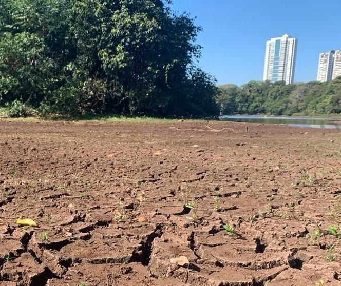Lago do Parque do Ingá não voltará ao normal tão cedo