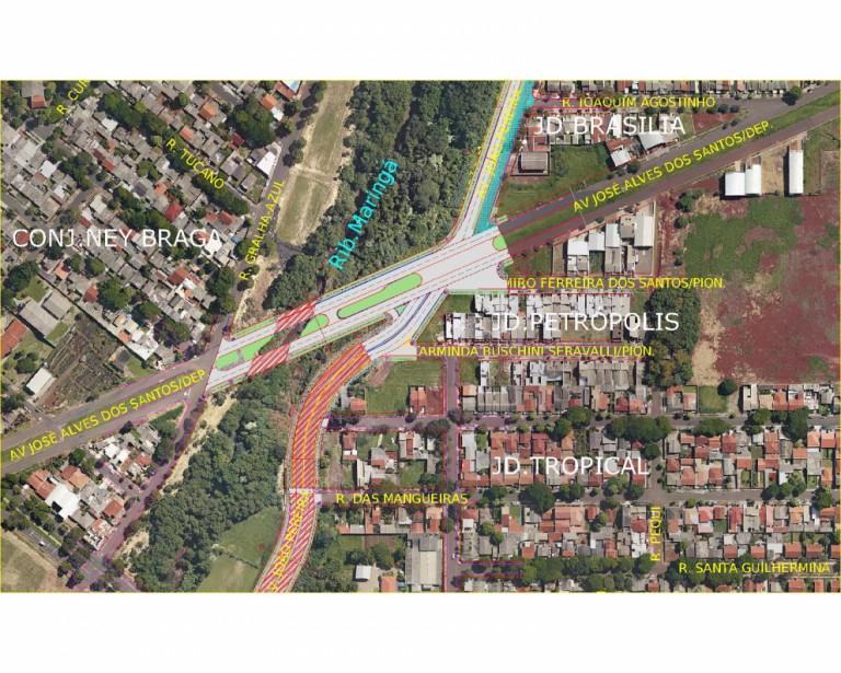 Moradores pedem conclusão de obras da Avenida Pioneiro João Pereira