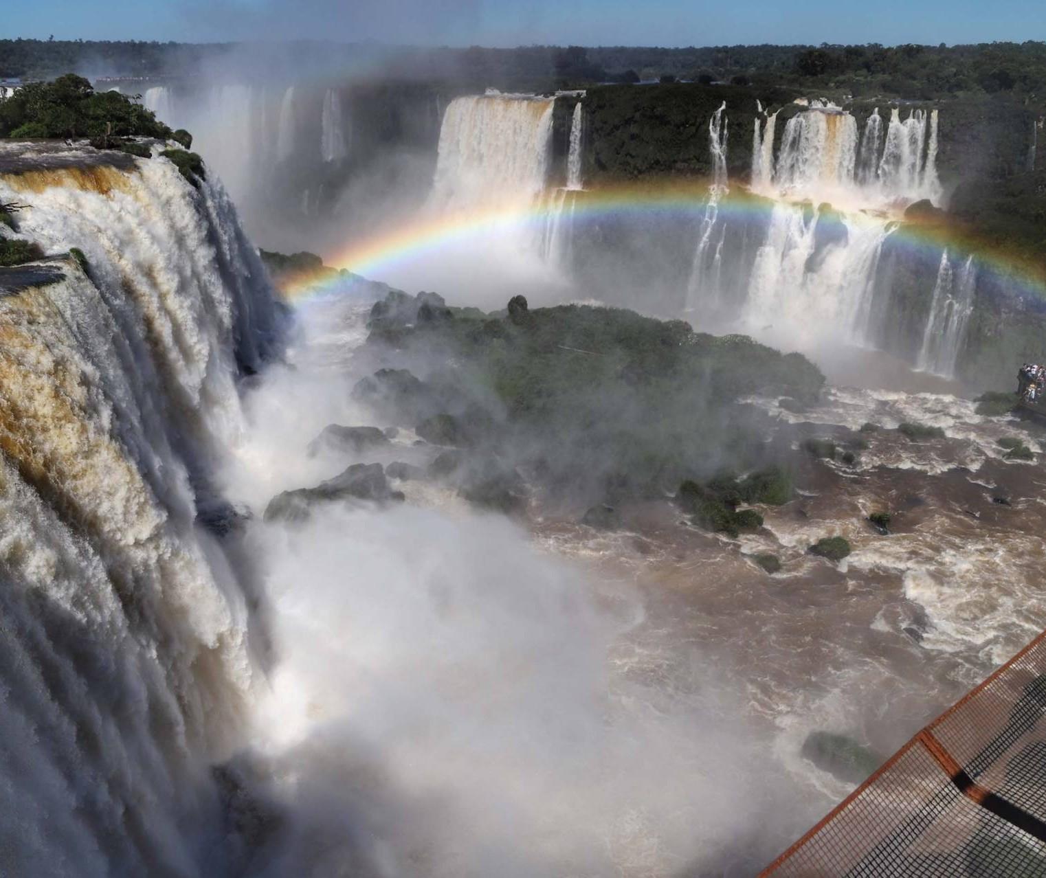 Cataratas do Iguaçu registram a maior vazão de água desde fevereiro