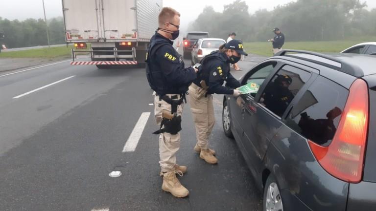 Em cinco dias de fiscalização, seis motoristas foram presos por embriaguez