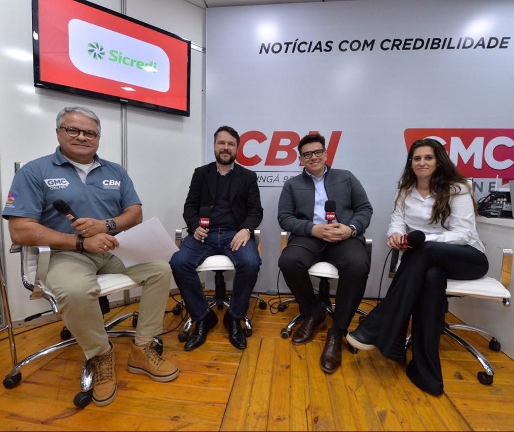 Especialistas falam sobre investimento responsável no programa especial no estúdio da CBN na Expoingá