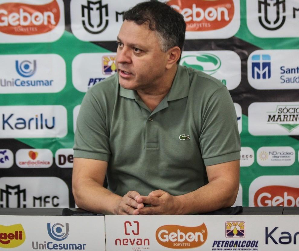 Momento do Maringá FC é de reconstrução, diz Pachequinho
