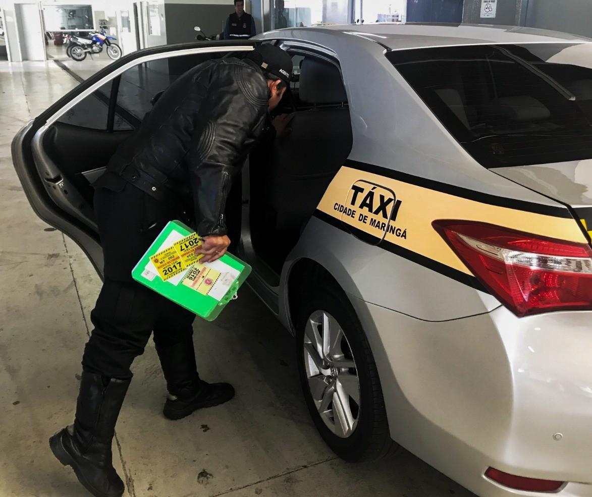 Vistoria de táxis começa na segunda-feira (15)
