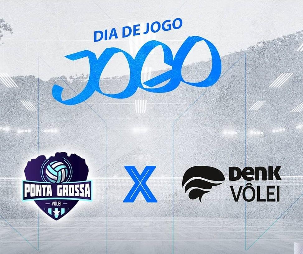 Denk perde para o Ponta Grossa por 3 sets a 2