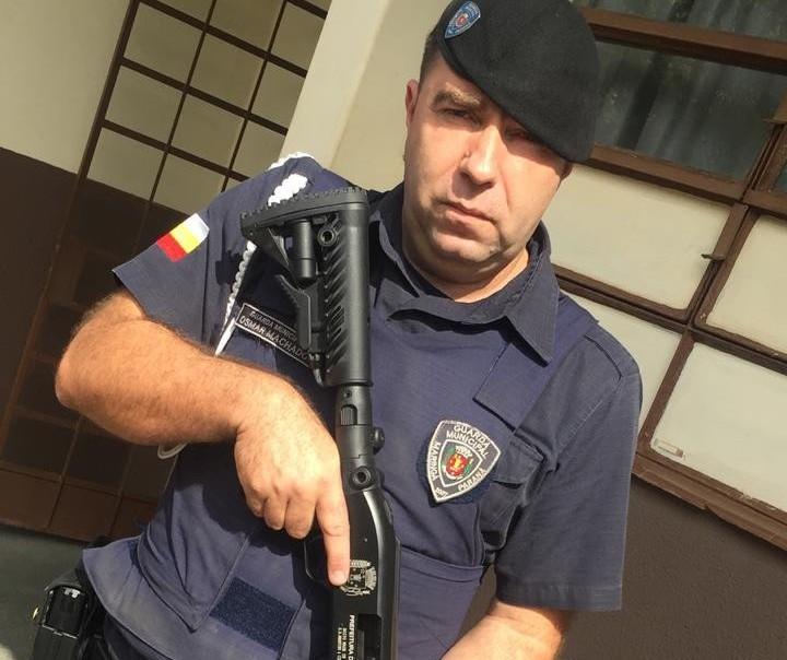 Chegaram as armas que serão utilizadas pela Guarda Municipal de Maringá em treinamento