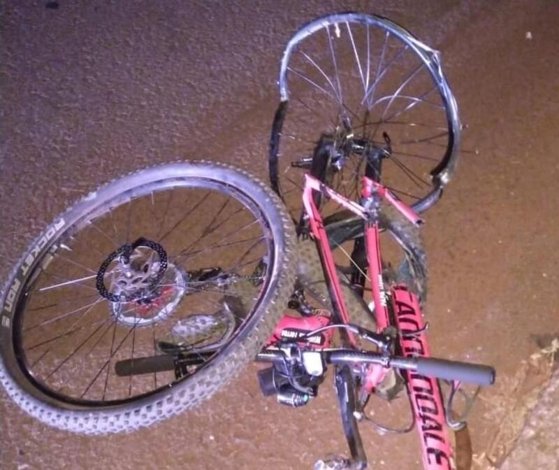 Ciclista profissional morre atropelado por jovem sem CNH na PR-323