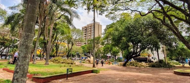 Encerrada a licitação para a reforma da Praça Napoleão Moreira da Silva