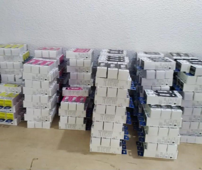 Polícia fecha depósito de falsificação de tintas em Maringá