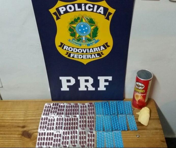 PRF apreende remédios contrabandeados do Paraguai em Marialva