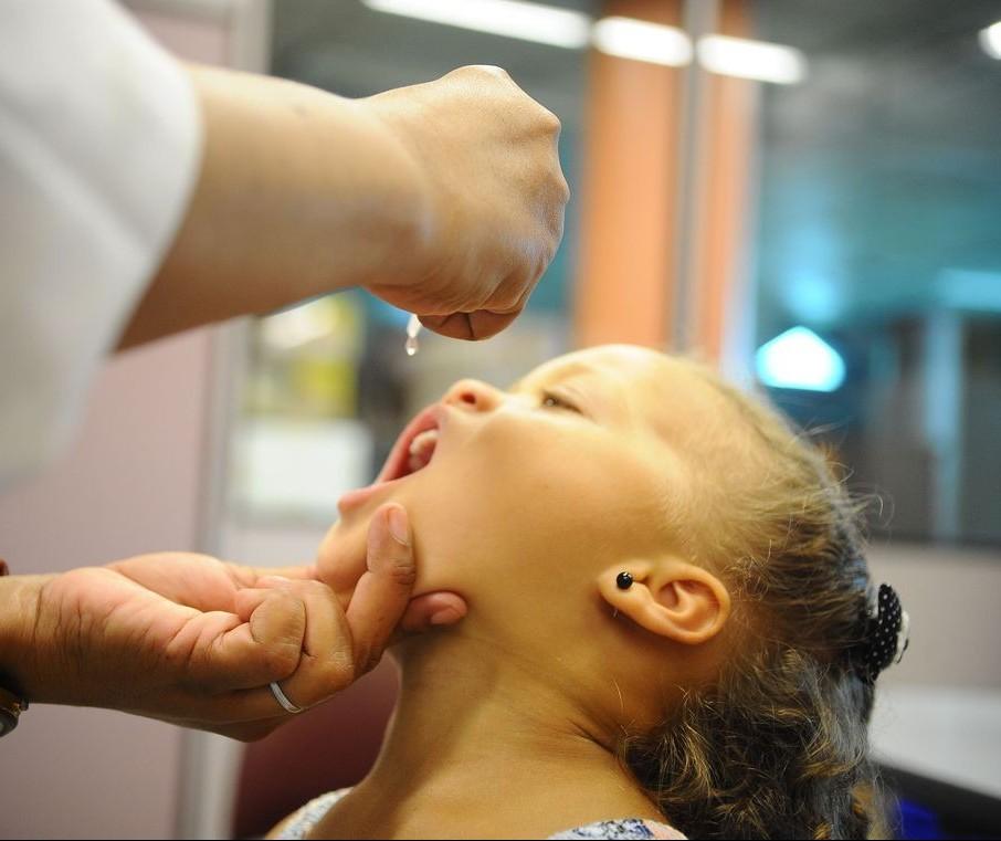 Maringá vacinou quase 70% do público alvo contra pólio e sarampo