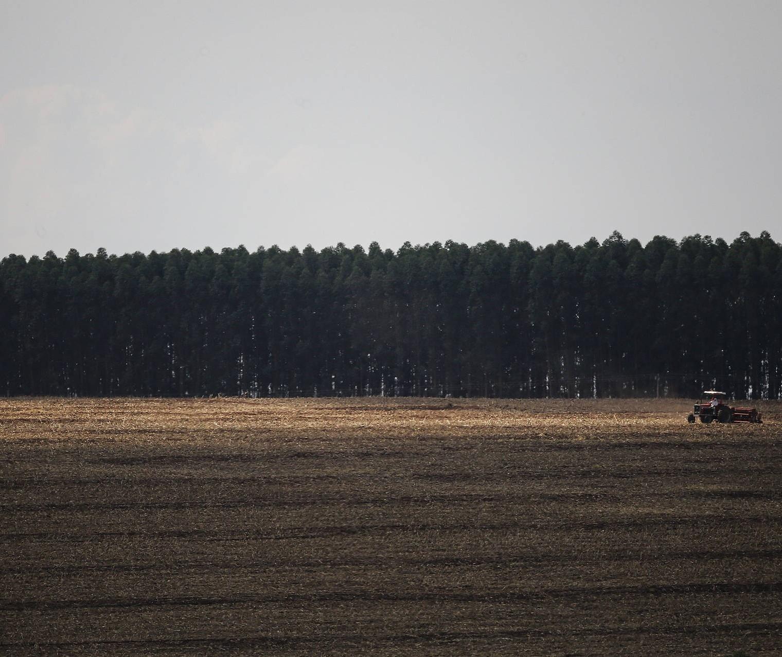 Agricultores iniciam preparo de solo visando a safra 2021/2022