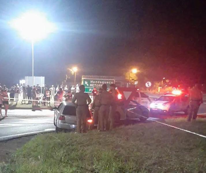 Adolescente morre e outras duas pessoas ficam feridas em atentado a tiros em Mandaguaçu