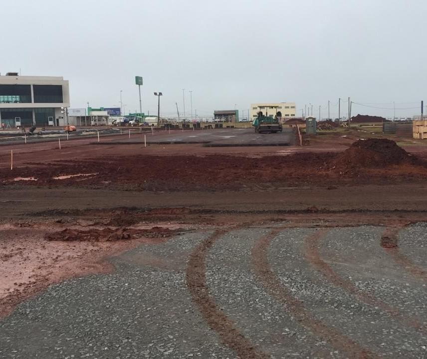 40% da obra de ampliação da pista do aeroporto de Maringá estão prontos