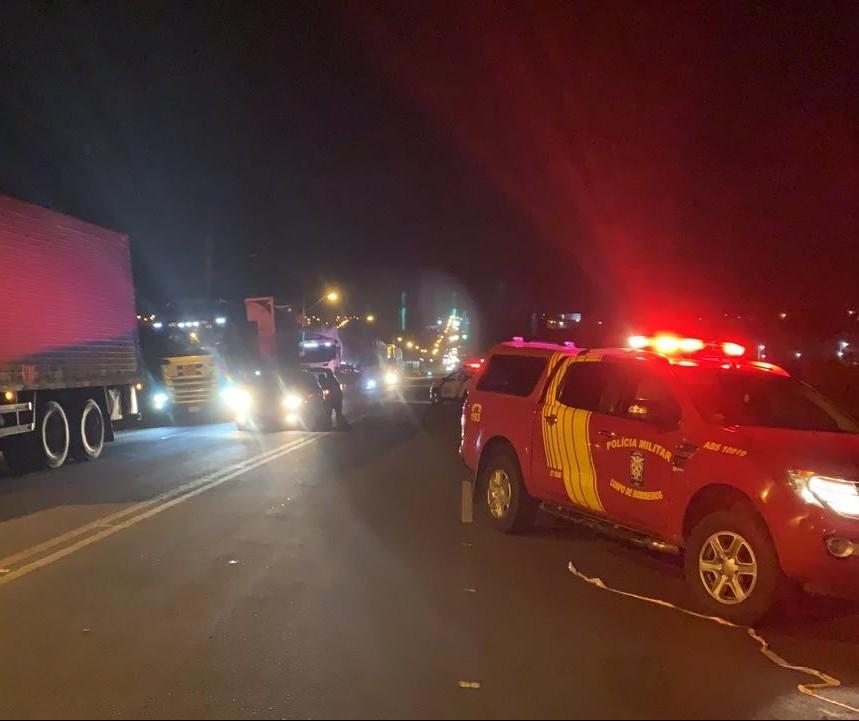 Motorista envolvido em acidente no Contorno Sul estava embriagado