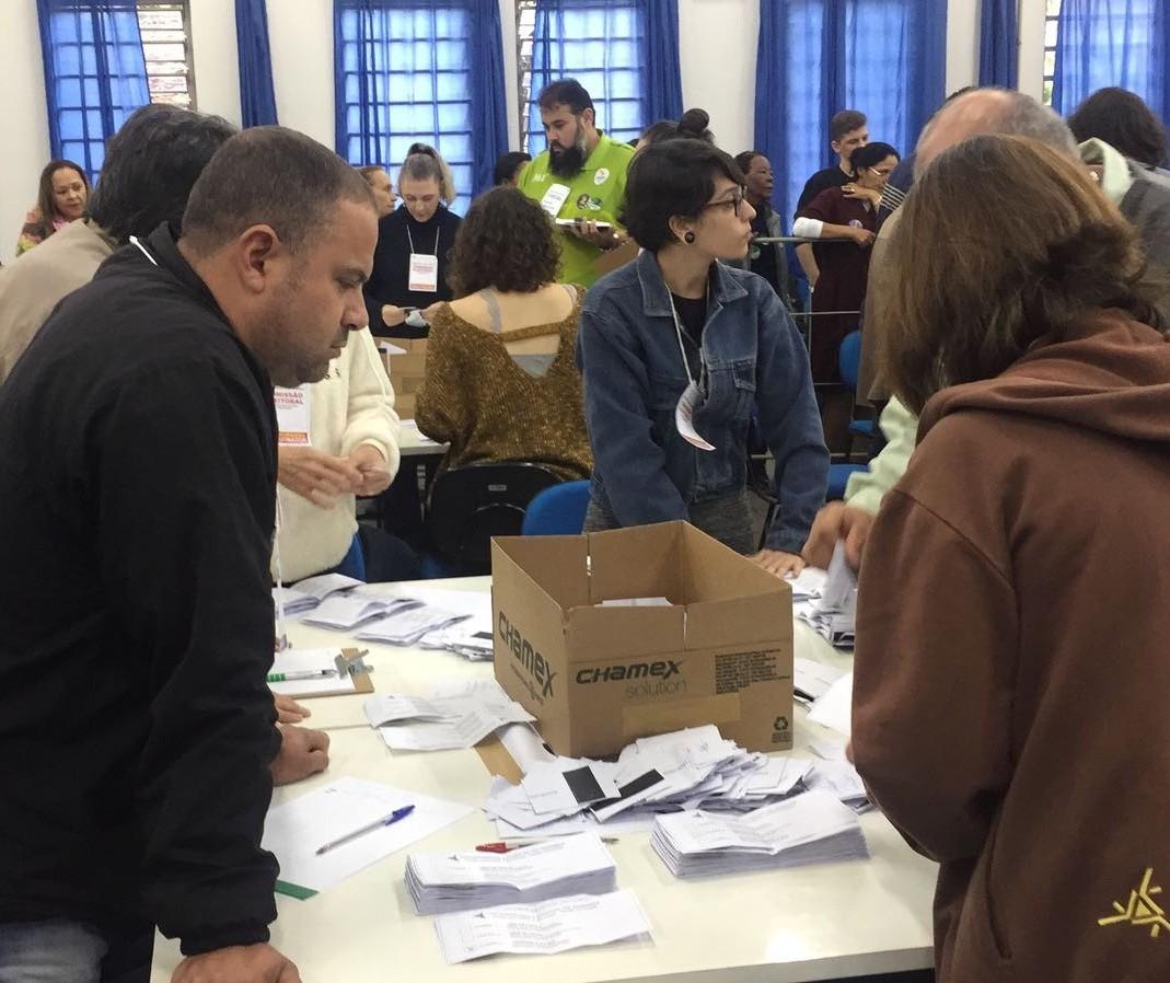 9.244 pessoas votaram na eleição para reitor