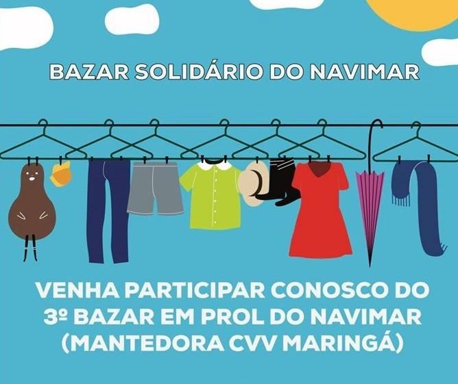 Núcleo de Apoio à Vida de Maringá realiza bazar solidário