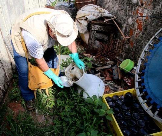 Lira aponta índice médio de infestação do Aedes aegypti de 0,7% em Maringá