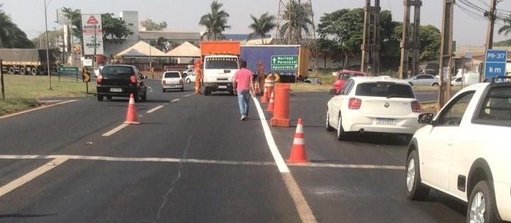 Confira a nova sinalização para evitar congestionamentos