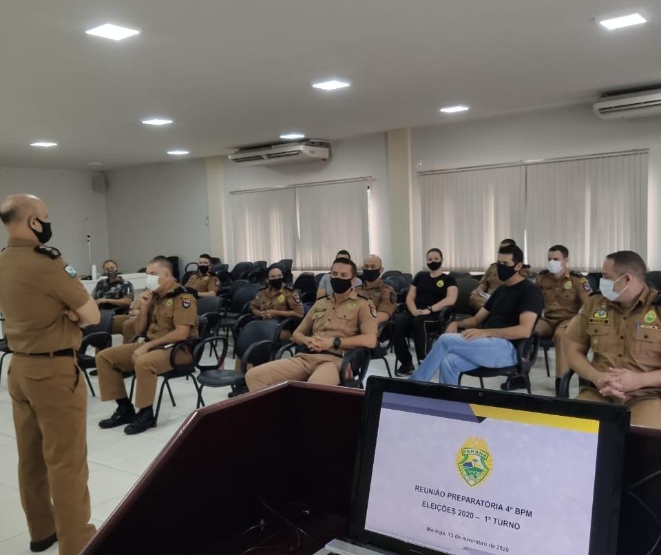Polícia Militar define segurança no dia das eleições