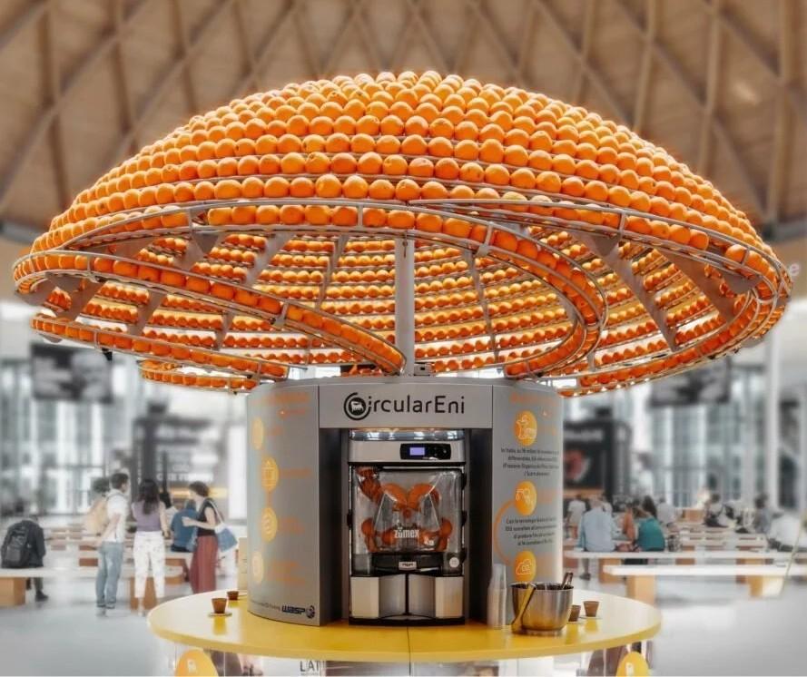 Impressora 3D faz copos descartáveis usando a fibra da casca de laranja