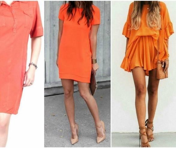 Tons da cor laranja são destaques para o próximo verão
