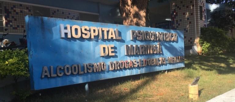 Hospital Psiquiátrico de Maringá está em reformas