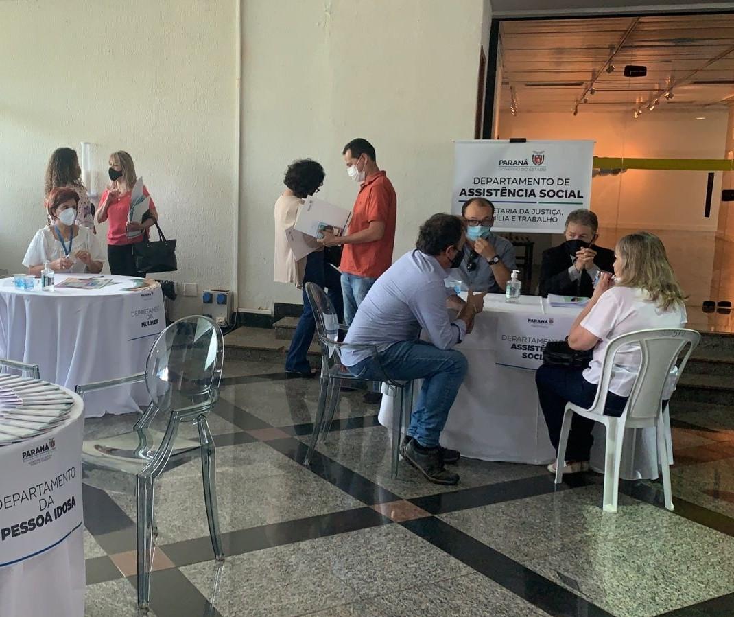 Municípios vem a Maringá para o Programa de Interiorização da Sejuf