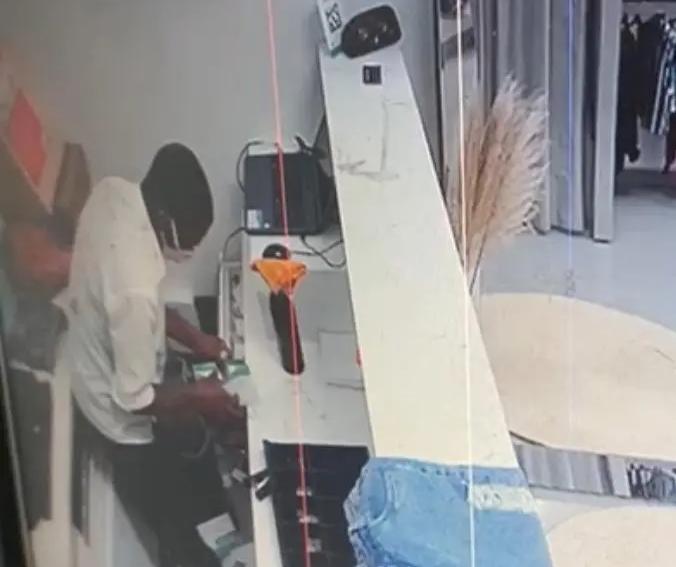 Vendedora é trancada no banheiro durante assalto no centro de Maringá