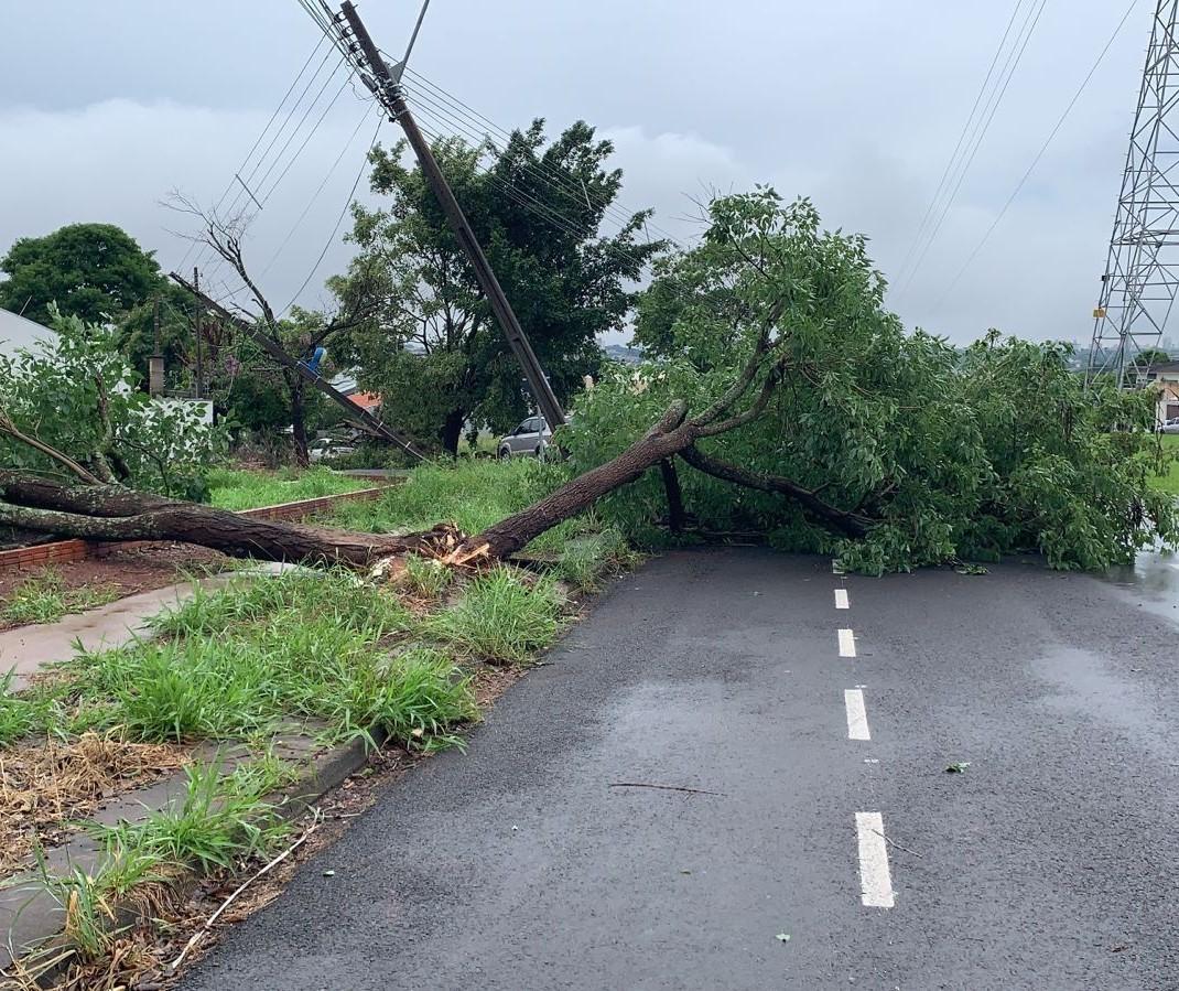 10 mil imóveis estão sem energia elétrica em Maringá