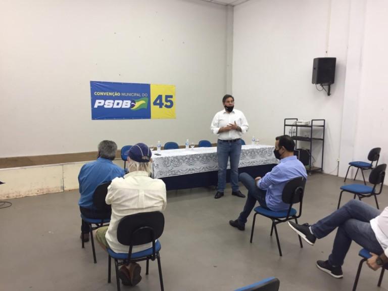 Evandro Oliveira é o candidato a prefeito pelo PSDB