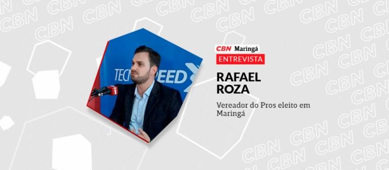 Rafael Roza (Pros) pretende apresentar projetos na área da economia