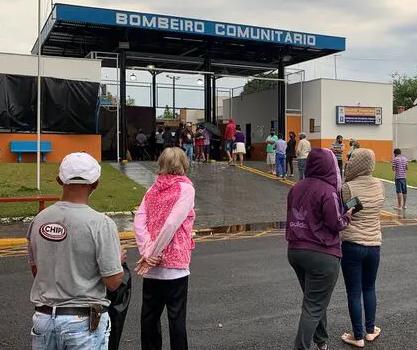 70 pessoas estão em abrigo de Jandaia do Sul