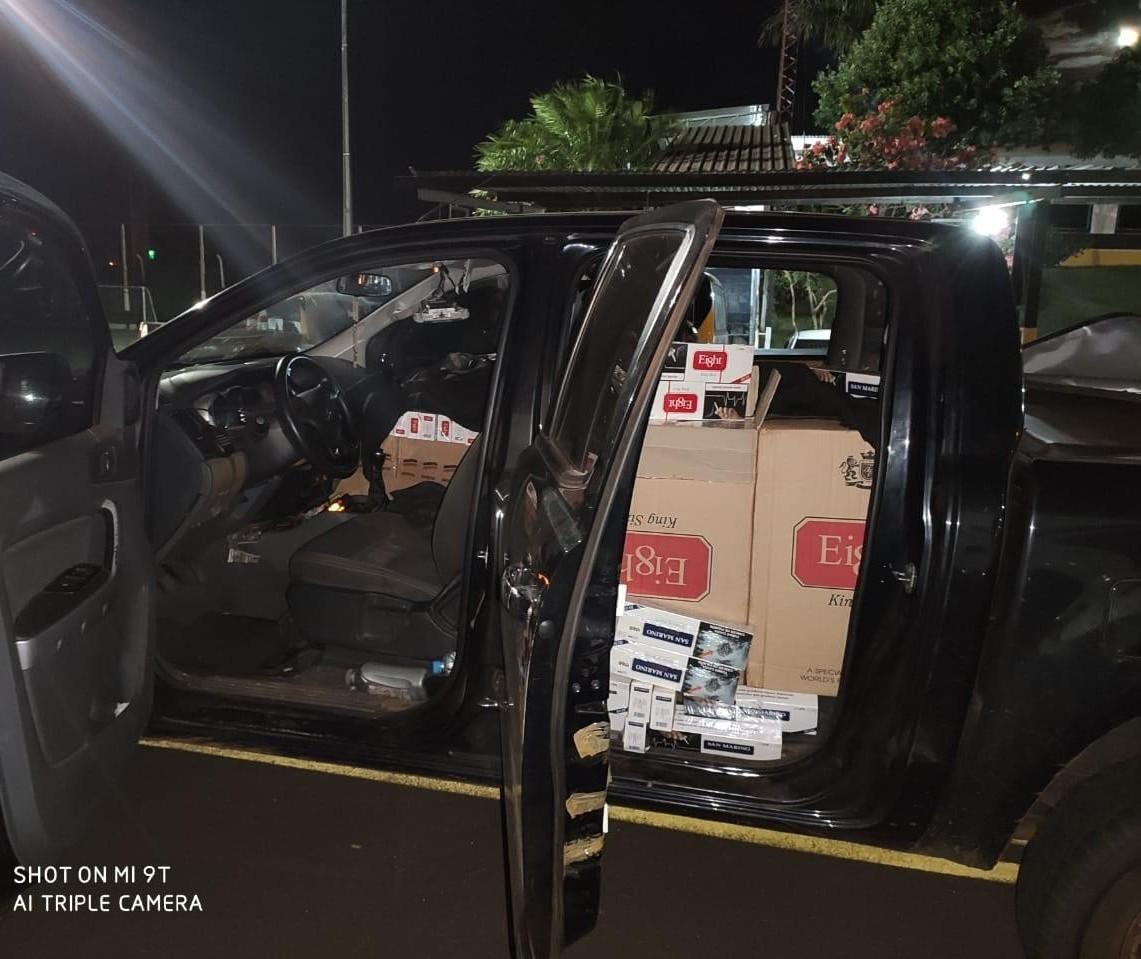 Três pessoas são detidas em operação contra crimes de fronteira