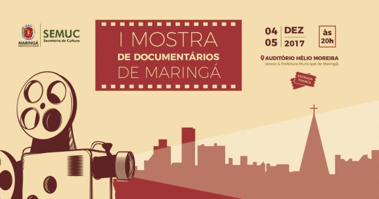 Maringá recebe a Primeira Mostra de Documentários