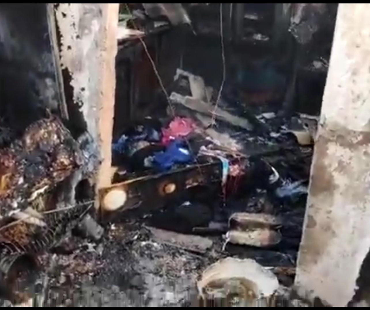 Coletor de lixo que teve casa destruída em incêndio precisa de doações