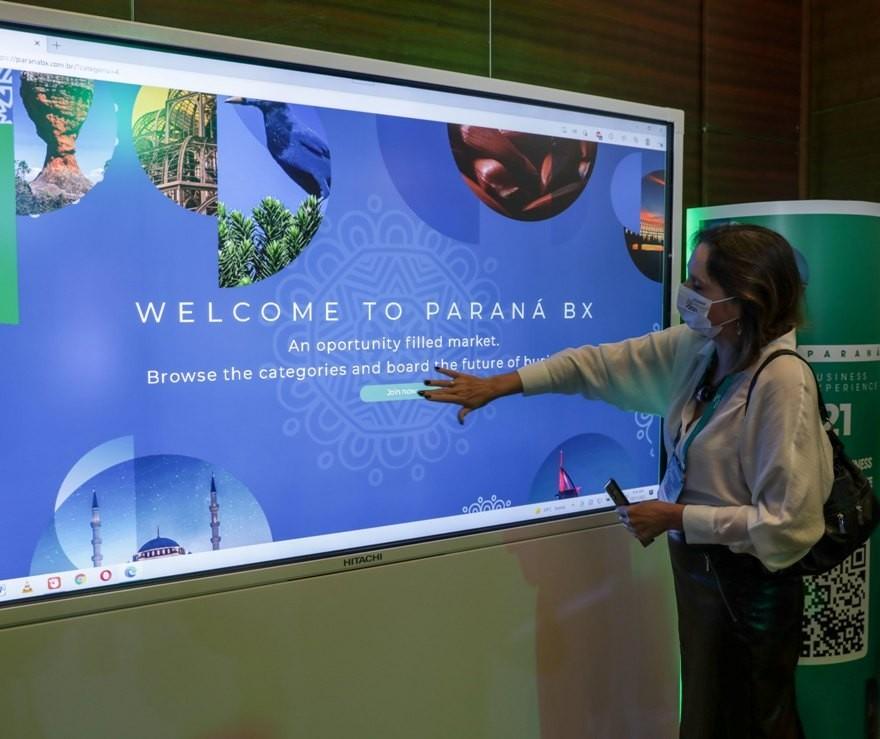 Paraná lança plataforma digital para empresas se apresentarem a investidores na Expo Dubai