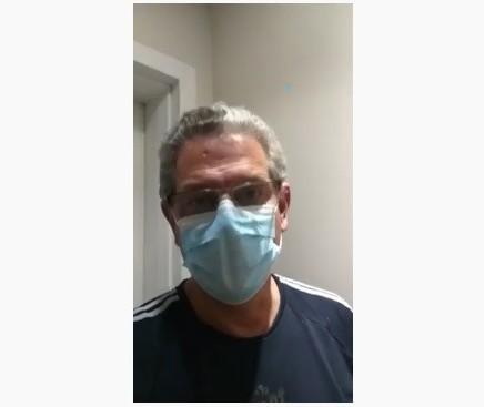 Teste do ex-prefeito Sílvio Barros dá positivo para coronavírus
