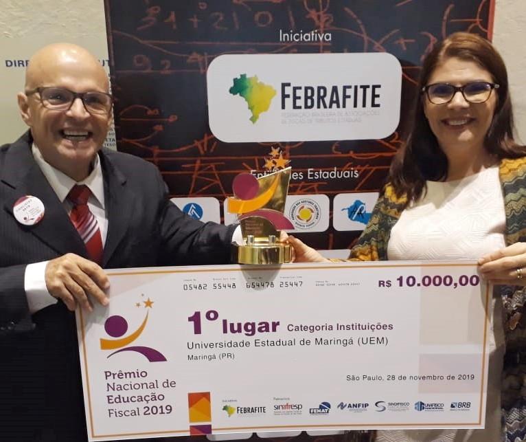 Projeto da UEM vence Prêmio Nacional de Educação Fiscal