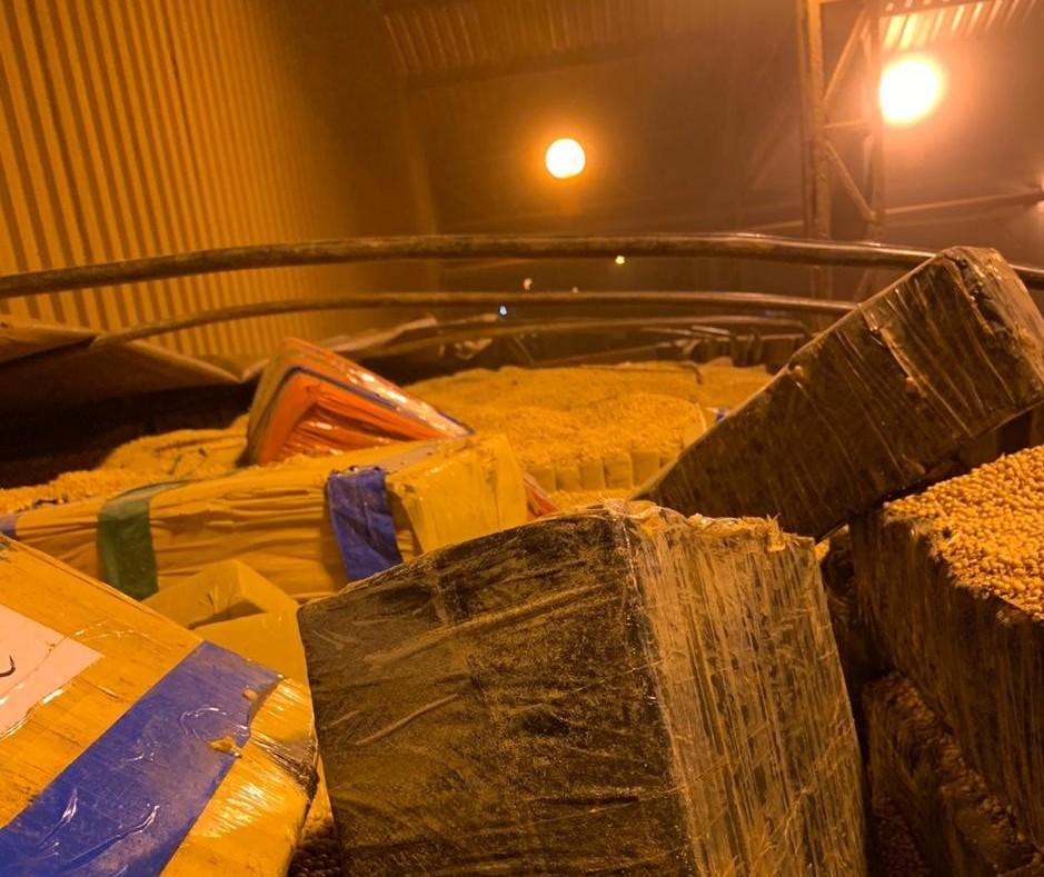 PF apreende cerca de 25 toneladas de maconha em Campo Mourão