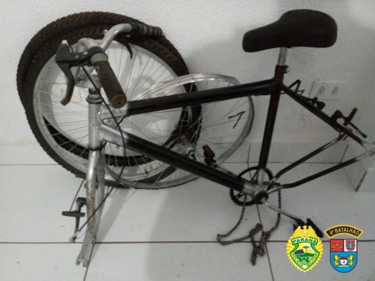 Polícia localiza em residência bicicleta do jovem espancado em Maringá