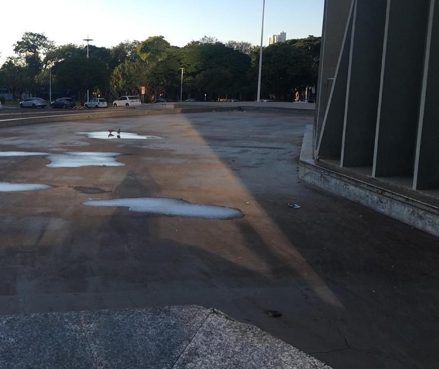 Prefeitura de Maringá abre licitação para reformar espelhos d 'água da Catedral