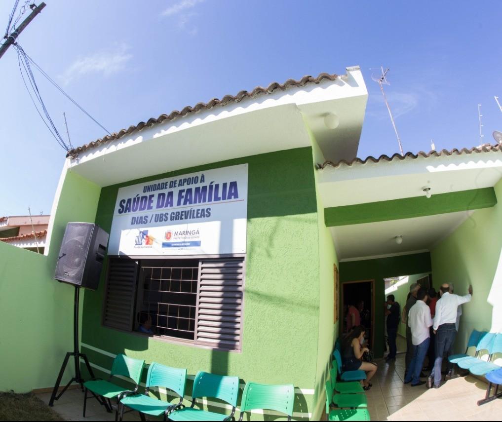 Jardim Dias ganha Unidade de apoio à Saúde da Família